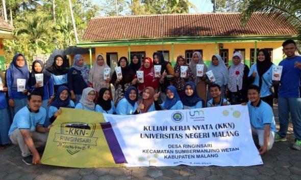 KKN : Kelompok KKN UM Desa Ringinsari