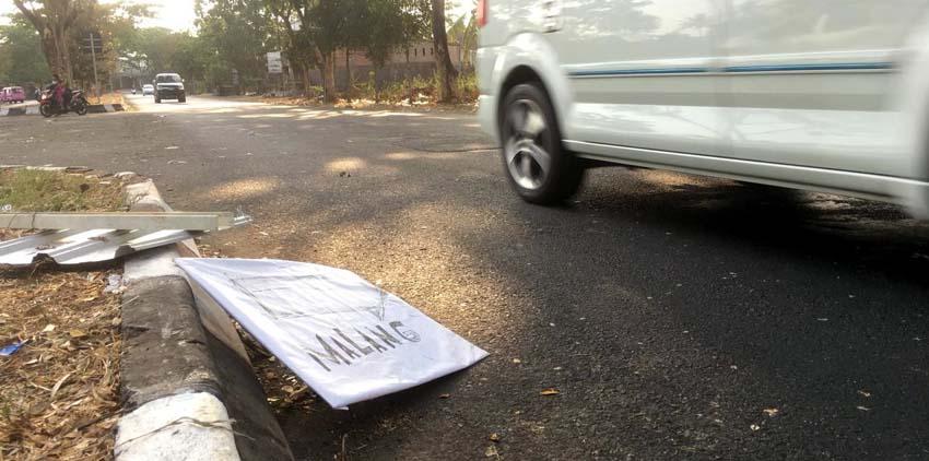 Sampah Jalibar usai Kirab Budaya. (sur)