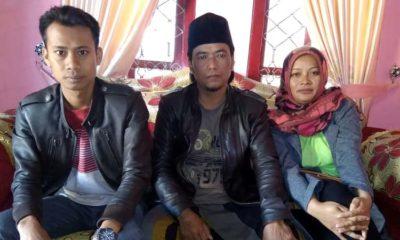 Muhamad Aris Yahya Didampingi Sodik dan Mariati. (sur)