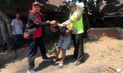 SENDIRIAN? : Selain di Singosari, mengaku di Kota Malang dan Batu. (ist)