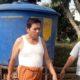 BANTUAN : Salah Satu Bantuan Tandon Air di Desa Ringinsari. (H MansyurUsman/Memontum.Com)
