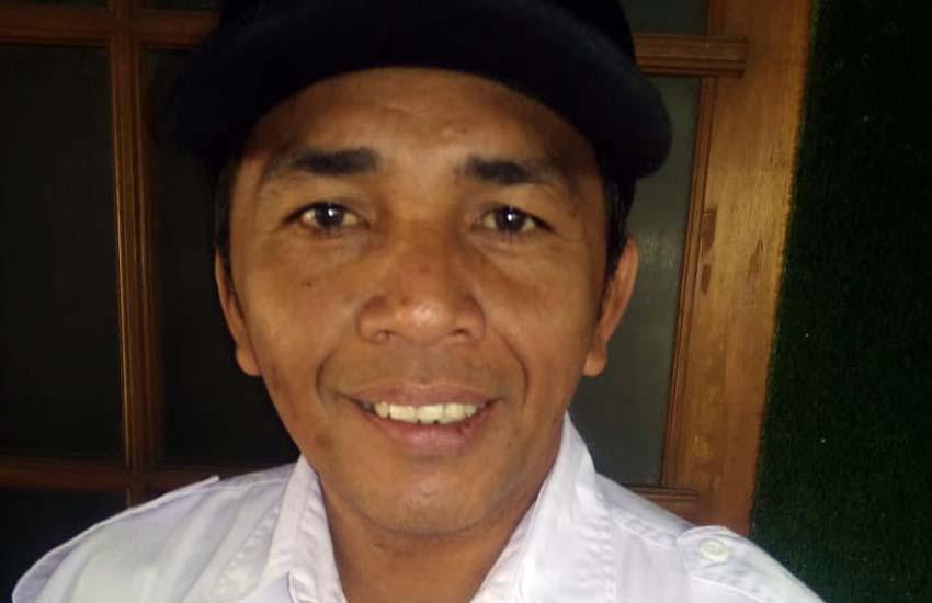 Hendik Arso Kades Pujiharjo Tirtoyudo. (Sur)