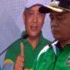 Bupati Malang Drs HM Sanusi MM membuka POR SD/MI di halaman parkir Stadion Kanjuruhan Kepanjen. (sur)