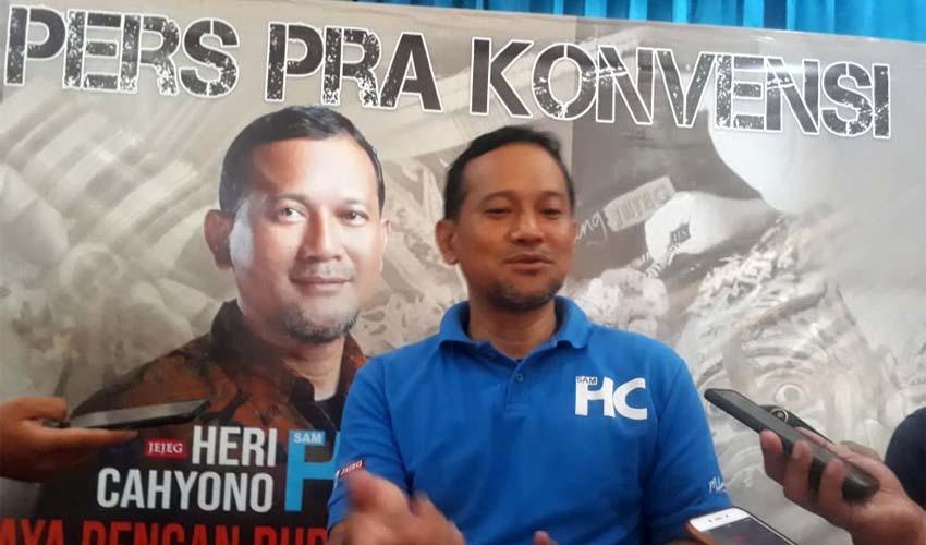 Sam HC Cabup Malang Jalur Independen. (sur)