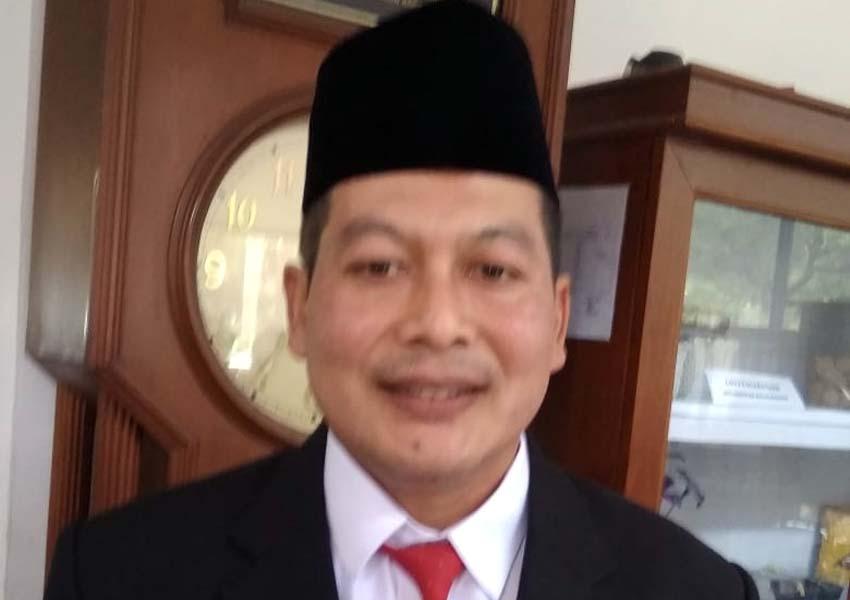 Didik Gatot Subroto Ketua DPC PDIP Kabupaten Malang. (Sur)