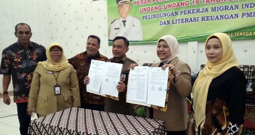 Foto usai penandatanganan kerjasama dengan BNI. (ist)