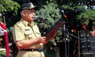 Bupati Malang Drs HM Sanusi MM Bertindak Selaku Irup. (sur)