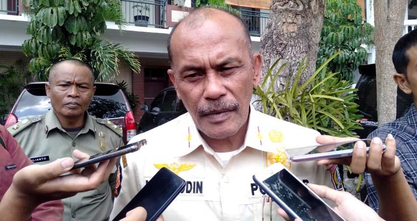 Nazarudin Hasan, Kasatpol PP Kabupaten Malang. (Sur)