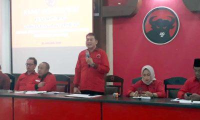 Didik Gatot Subroto Ketua DPC PDIP Kabupaten Malang. (ist)