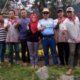 Drs H Sugeng MM Bersama Struktur Organisasi Kampung Bunga Grangsil. (Sur)