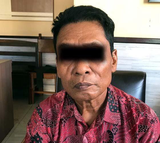 PJS : Tersangka (humas Polres Malang)