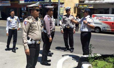 Satlantas Polres Malang Bersama Dishub Survei Tempat Pasang CCTV
