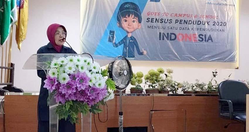Surya Astuti Kepala Badan Pusat Statistik Kabupaten Malang. (Sur)