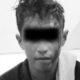 Diamankan anggota Polsek Donomulyo tersangka Nanang Kosim mengaku lagi sakit tipes. (ist/humas Polres Malang)