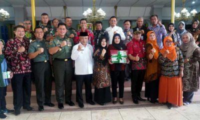 Bupati Malang Drs HM Sanusi MM Bersama Tamu Beragam Elemen. (ist)