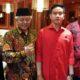 Bupati Malang Drs HM Sanusi MM Bersama Ketua DPRD Kabupaten Malang Didik Gatot Subroto. (ist)
