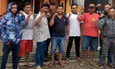 Tim Penggugat Pilkades Pandesari Pujon. (Sur)