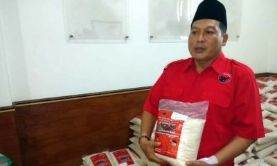 PDIP Kabupaten Malang Salurkan Bantuan 45 Ton Beras