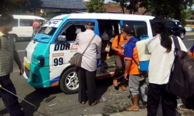 Peduli Cegah Corona, Paguyuban TA dan Serikat Sopir Indonesia (SSI) Semprot Disinfektan