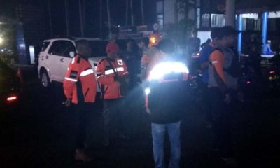 Tim relawan dan SAR berdatangan untuk membantu pencarian. (ist)