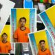 Para tersangka yang ditangkap Polsek Singosari dan ilustrasi latar foto barang bukti. (Humas Polres Malang)