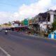 Kawasan Pasar Tirtomarto Kecamatan Ampelgading. (Sur)