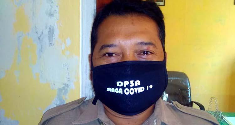 Ir Joni Suhariyanto Kepala Desa Tirtomarto. (Sur)