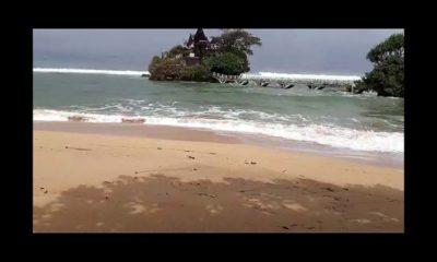 Gelombang Tinggi, Air Laut Meluber di Wilayah Pesisir Kabupaten Malang