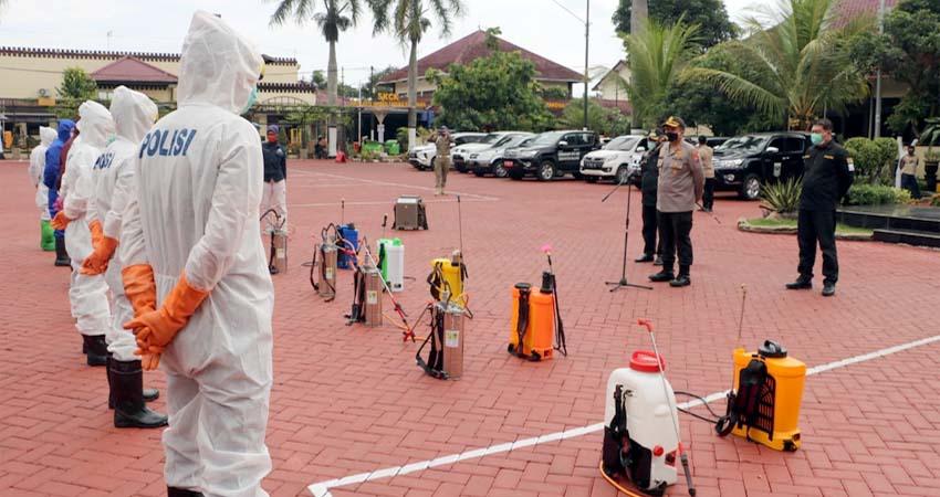 Tangani Pasien Bandel Polres Malang Bentuk Covid 19 Hunter Memontum Kabupaten Malang
