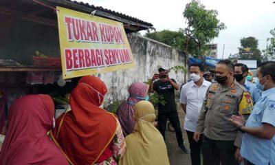 Kapolres Malang Resmikan Kampung Tangguh Adi Santoso Kepanjen