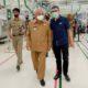 Bupati Malang Sanusi saat melakukan kunjungan di Gedung Produksi PT Bentoel