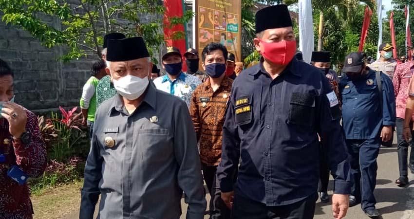 Bupati Malang Resmikan Kampung Tangguh Semeru Gedangan