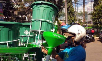 Kecamatan Kepanjen Salurkan Bantuan Masker dan Wastafel dari Proyek Nata Agung