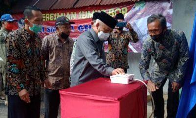 SMPN 1 Gedangan Bangun Sumur Bor Sendiri, Bupati Malang Janji Bantu