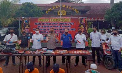 Sikat Semeru Malang Ungkap 53 Kasus
