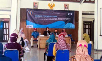 PELATIHAN: Pelatihan literasi politik perempuan di Desa Gedangan (ist)