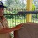 H.Duriadi, Kepala Desa Tanggung dan H.Duriadi saat di Prasasti Watu Godek (Sur)