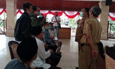 Warga Ngenep dan Walhi Datangi DLH Kabupaten Malang - Minta penghentian pembangunan perumahan