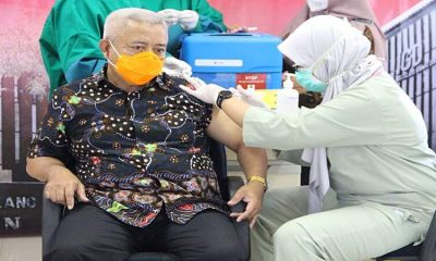 Forkopimda Malang Jalani Vaksinasi Tahap II di RSUD Kanjuruhan