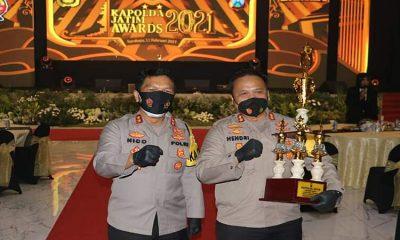 Kapolres Malang Raih Penghargaan Kapolda Jatim Awards 2021 Sebagai Juara Satwil Terbaik