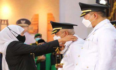 Seremonial Penyambutan Bupati dan Wakil Bupati Malang Digelar Terbatas di Pendopo Kepanjen