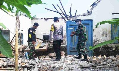 200 Lebih Rumah Warga di Kabupaten Blitar Rusak dan 11 Orang Luka Akibat Gempa