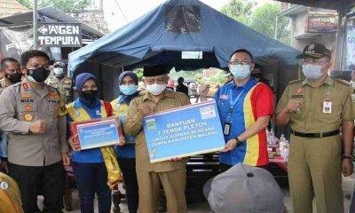 Bupati Malang Dampingi Kapolda Jatim Kunjungi Daerah Bencana Gempa di Dampit Malang