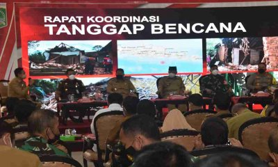 Bupati Malang bersama Forkopimda Lakukan Rapat Koordinasi Tanggap Bencana