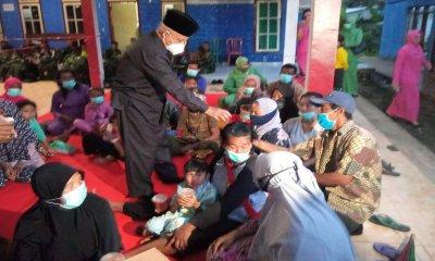 Bupati Malang bersama Forkopimda dan OPD Buka Puasa dengan Korban Bencana Gempa di Tirtoyudo