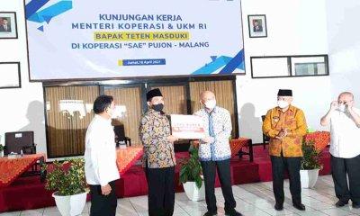 Koperasi SAE Pujon Terima Pinjaman Lunak dari LPDB-KUMKM