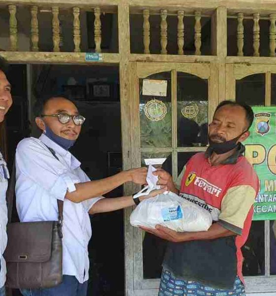 DPC Peradi RBA Malang Kunjungi Korban Gempa Kabupaten Malang, Bagikan Sembako dan Berbuka Bersama